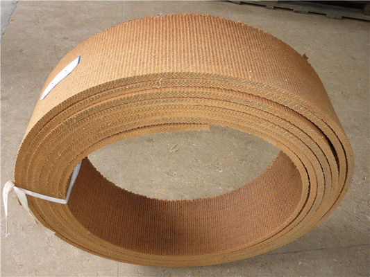 Good Softness Non Asbestos Woven Brake Lining High Temperature Resistance